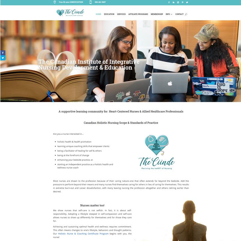 The Canadian Institute of Integrative Nursing Development & Education