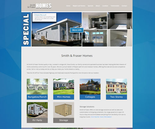 Smith and Fraser Homes