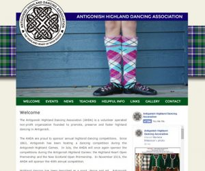 Simply Ducky: Antigonish Highland Dance