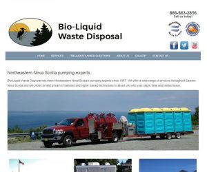Simply Ducky Web Design: Bio-Liquid Waste Disposal