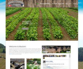 Blackie's Suffolks & Vegetables