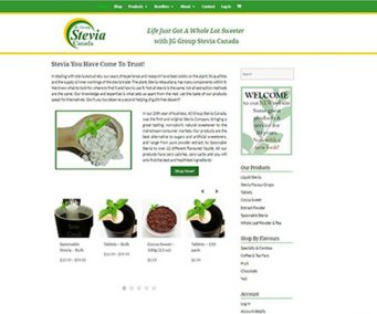 JG Group Stevia Canada