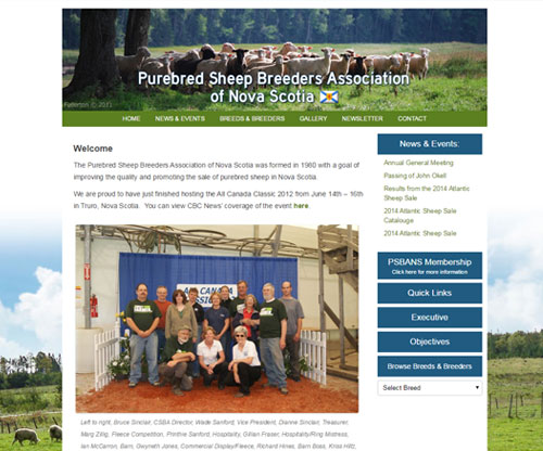 Purebred Sheep Breeders Association of Nova Scotia