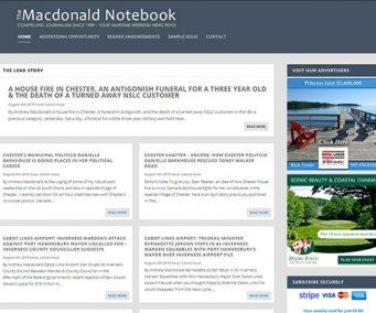 The Macdonald Notebook