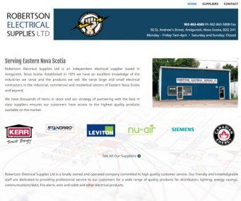 Robertson Electrical Supplies Ltd